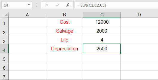 اهلاك الأصول الثابتة في Excel كمبيوترنا